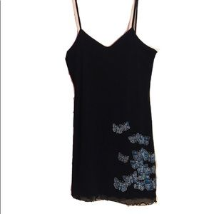 OPEN COLECCION, STRETCHY BLACK DRESS
